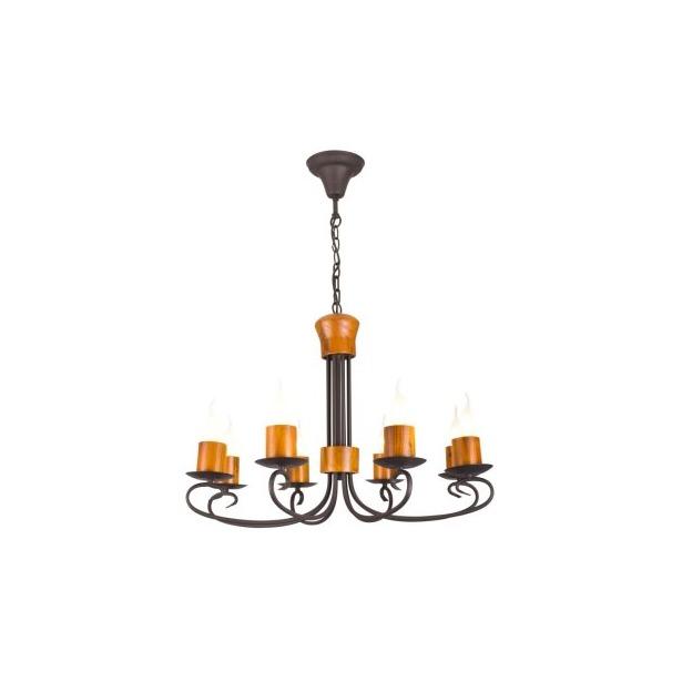 фото Люстра подвесная Arte Lamp Candela A6950LM-8BR