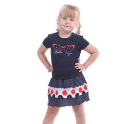 фото Комплект для девочки: джемпер и юбка Свитанак 606491. Рост: 122 см. Размер: 32