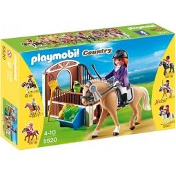 фото Конструктор игровой Playmobil «Конный клуб: Лошадка для прогулок и загон»