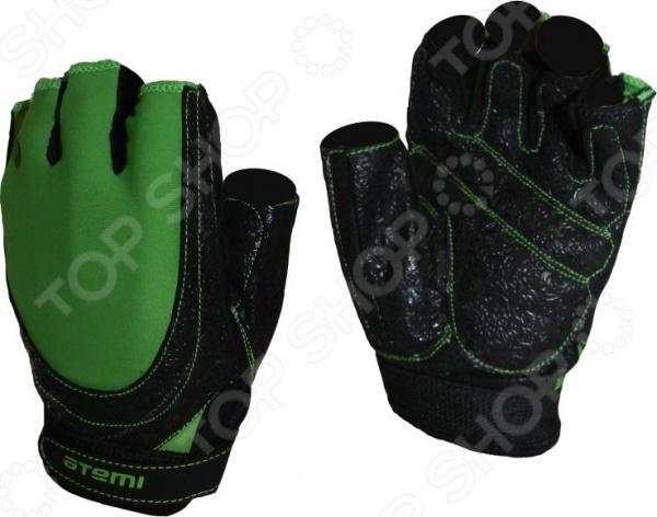 Перчатки для фитнеса Atemi AFG-06 Перчатки для фитнеса Atemi AFG-06g /Зеленый/Черный