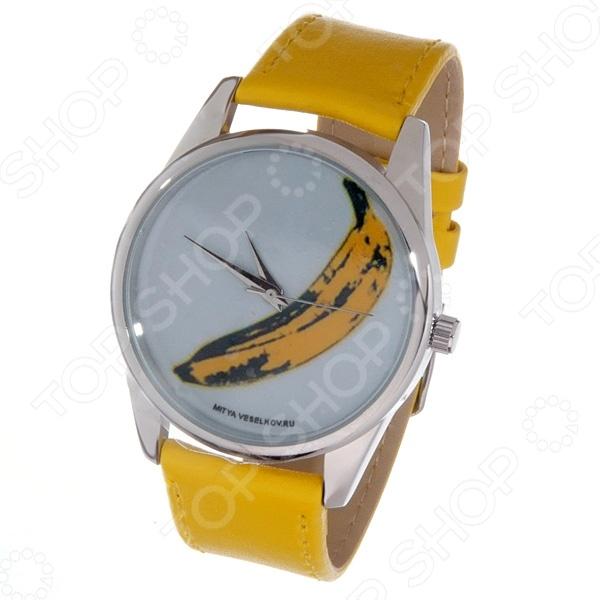 Часы наручные Mitya Veselkov «Банан» Color часы наручные mitya veselkov райский сад color