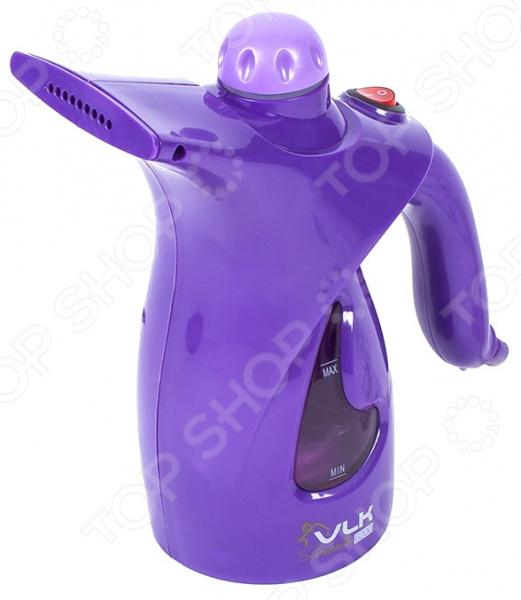 Отпариватель ручной VLK Sorento-6200Отпариватели<br>Отпариватель ручной VLK Sorento-6200 предназначен для глажки и отпаривания одежды, домашнего текстиля, различных предметов интерьера, постельных принадлежностей и пр. Мощная подача пара позволяет дезинфицировать даже самые труднодоступные участки, устраняя застарелые пятна, неприятный запах и патогенную микрофлору. Прибор отличается компактными габаритами, благодаря чему он займет минимум места на полке или в дорожной сумке. Эргономичная рукоятка обеспечивает удобное использования отпаривателя. Укомплектованная насадка с мягким коротким ворсом эффективно избавит одежду и предметы домашнего обихода от пыли, пятен и прочих загрязнений. А насадка с длинной щетиной очистит изделия от ворсинок, волосков и шерсти домашних животных. Резервуар для воды выполнен из прозрачного материала, что позволяет контролировать уровень воды. В комплекте:  отпариватель;  щетка-насадка с длинной щетиной;  насадка с мягкой щетиной;  стакан мерный.<br>