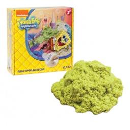 фото Песок кинетический 1 Toy «Губка Боб». Цвет: желтый
