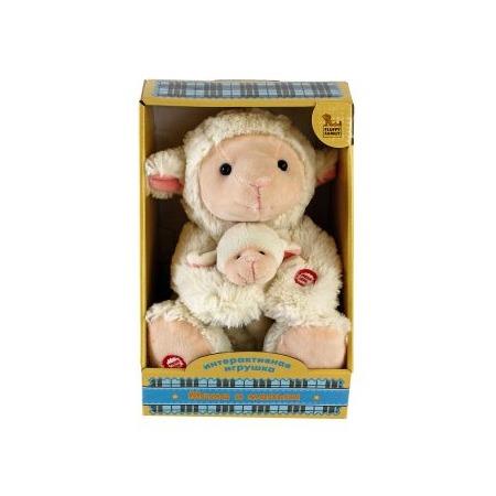 Купить Игрушка интерактивная мягкая Fluffy Family «Мама и малыш. Овечка»