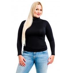 фото Водолазка Mondigo XL 204. Цвет: черный. Размер одежды: 50