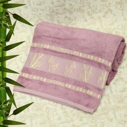 фото Полотенце махровое Mariposa Tropics lavender. Размер полотенца: 70х140 см