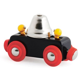 Купить Вагончик игрушечный Brio с колокольчиком 33749