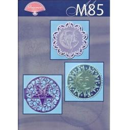 Купить Набор схем для парчмента Pergamano M85 Луна, солнце и звезды