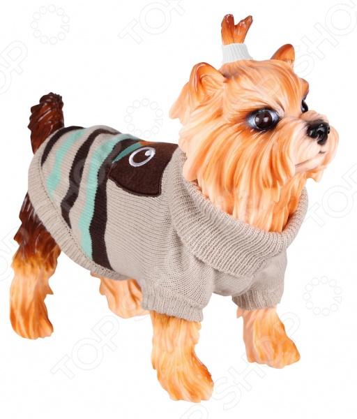 Свитер-попона для собак DEZZIE 563558 свитер для собак dezzie 561500 цвет черный