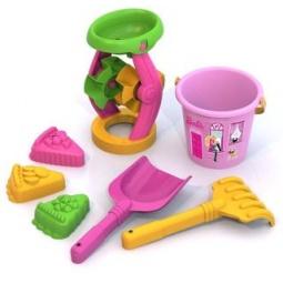 фото Набор для игры в песочнице Нордпласт «Барби» №6