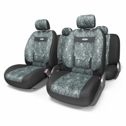 Купить Набор чехлов для сидений с ортопедической поддержкой Autoprofi COM-1105 Comfort Cyclone