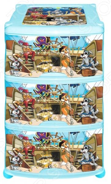 Комод 3-х секционный Violet «Пираты» Violet - артикул: 592656