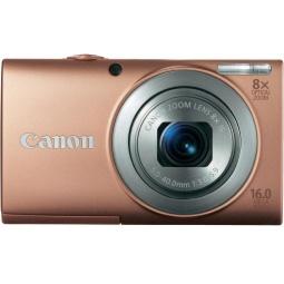 фото Фотокамера цифровая Canon PowerShot A4000 IS. Цвет: розовый