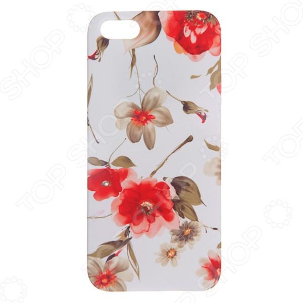 Чехол для iPhone 5 Mitya Veselkov «Акварель» чехол для iphone 5 mitya veselkov жизнь прекрасна