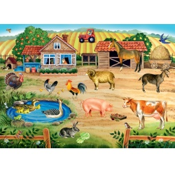 фото Пазл напольный Step Puzzle Ферма (Большие)