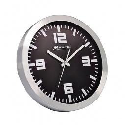 фото Часы настенные Marmiton алюминиевые. Цвет: черный