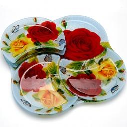 фото Набор тарелок для торта и десерта Loraine LR-23907