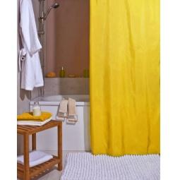 фото Штора для ванной Spirella Atlas. Цвет: желтый