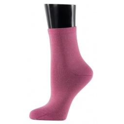 фото Носки женские Teller Silk Cashmere. Цвет: розовый