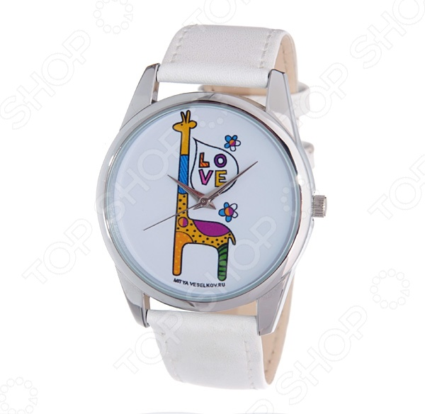 Часы наручные Mitya Veselkov «Жирафик»