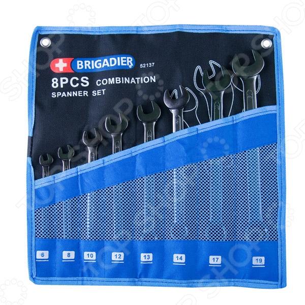 Набор ключей комбинированных Brigadier 52137, 8 шт. цена