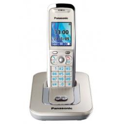 фото Радиотелефон Panasonic KX-TG8411. Цвет: золотистый
