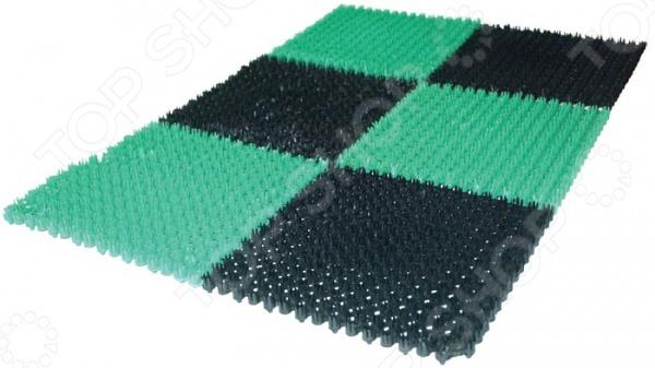 Коврик придверный грязесборный Vortex 23001 коврик vortex ячеистый 40х60х1 6см грязесборный резина