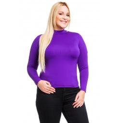 фото Водолазка Mondigo XL 264. Цвет: фиолетовый. Размер одежды: 50