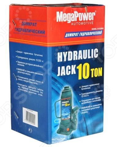 Домкрат гидравлический бутылочный с клапаном Megapower M-91004