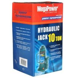 Домкрат гидравлический бутылочный с клапаном Megapower M-91204 - фото 5