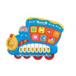 Купить Игрушка развивающая со звуком и светом Zhorya «Поезд»