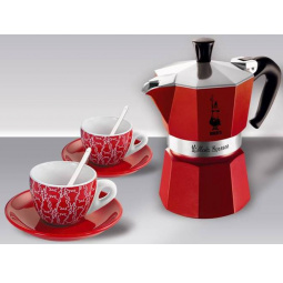 фото Набор для кофе Bialetti SET Moka Red Passion 4930
