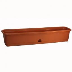 фото Ящик балконный IDEA. Длина: 80 см. Цвет: коричневый
