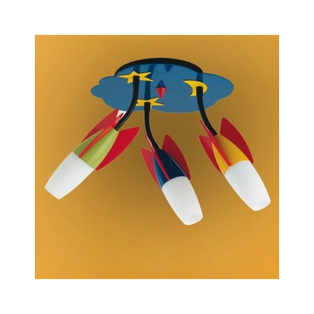 Купить Светильник настенно-потолочный для детской комнаты Eglo Laia