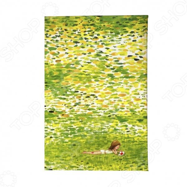 Обложка для автодокументов Mitya Veselkov «Девочка в травке» обложка для автодокументов кожаная mitya veselkov гагарин