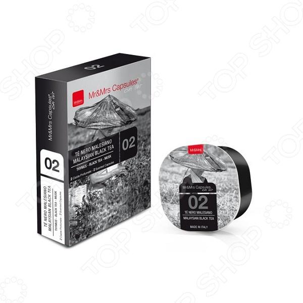 фото Арома капсулы для диффузора Mr&Mrs Fragrance Malaysian Black Tea, Ароматизаторы воздуха