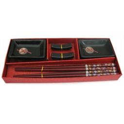 Купить Набор для суши Elan Gallery «Монеты» прямоугольный
