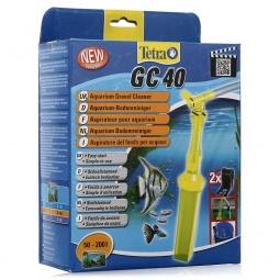 фото Сифон для чистки грунта в аквариуме Tetra с защитной сеткой. Объем: 50-200 л