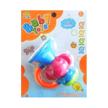 Купить Погремушка Baby Toys «Труба»
