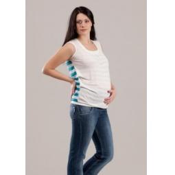 Купить Майка для беременных Nuova Vita 1347.3. Цвет: бирюзовый