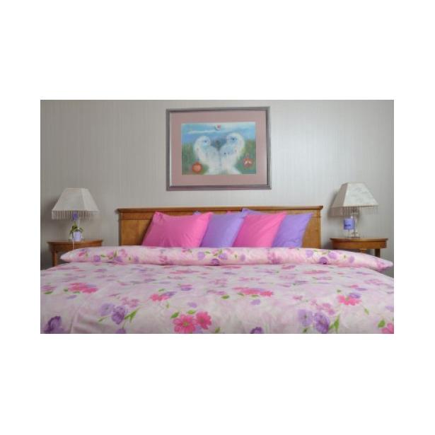 фото Комплект постельного белья Brielle Purple mood. 1,5-спальный