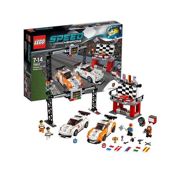 фото Конструктор LEGO Финишная линия гонки Porsche 911 GT