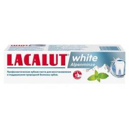 Купить Зубная паста Lacalut White alpenminze