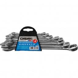 Купить Набор ключей комбинированных Сибин 27089-H8