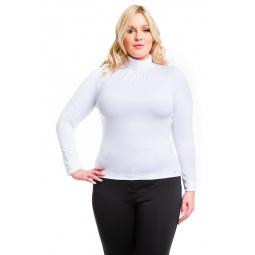фото Водолазка Mondigo XL 146. Цвет: белый. Размер одежды: 48