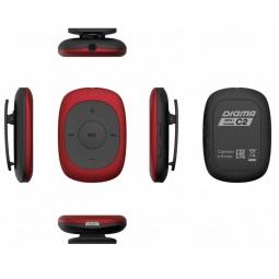 фото MP3-плеер Digma C2 8Gb. Цвет: красный, черный
