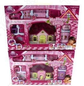Кукольный дом с аксессуарами Shantou Gepai 628744