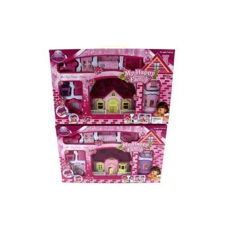 Купить Кукольный дом с аксессуарами Shantou Gepai 628744