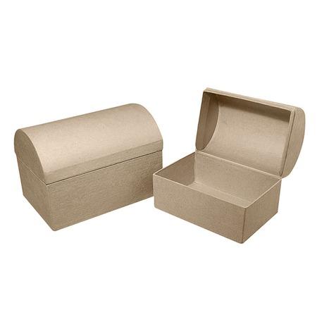 Купить Коробка из папье-маше Rayher «Сундук»