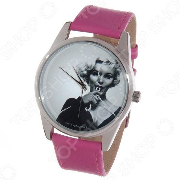 Часы наручные Mitya Veselkov «Монро с бусами» Color часы наручные mitya veselkov райский сад color